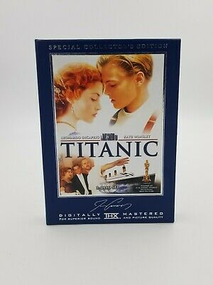 Titanic Special Collector's Edition 3 DVD Disc Box Set