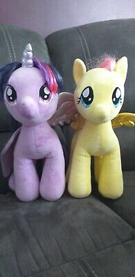 Build a Bear My Little Pony Twighlight Sparkle and Fluttershy Large Plush