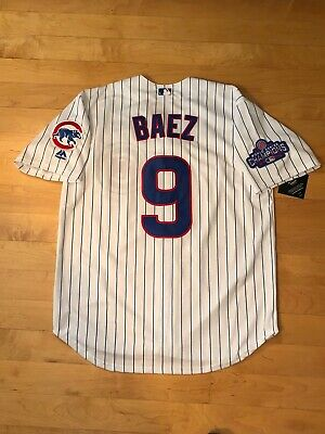 huge selection of aefa5 00a7d JAVIER BAEZ JERSEY Men's Large Size 44 Authentic Majestic ...