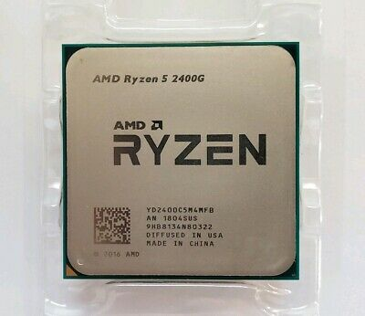 AMD Ryzen 5 2400G 3.6GHz (3.9GHz Turbo) Quad-Core Processor CPU