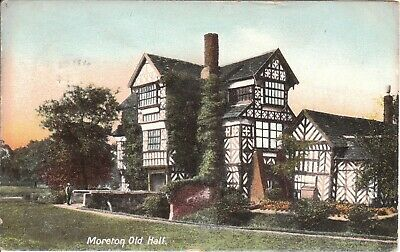 Cheshire Moreton Old Hall Posted 1905 Shaw Series Glover Cronton