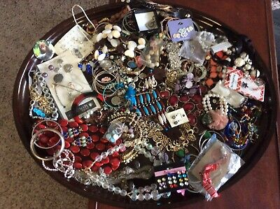 Large Lot Of 5 + Assorted Jewlery For Wear Or Resale + Misc  # 2