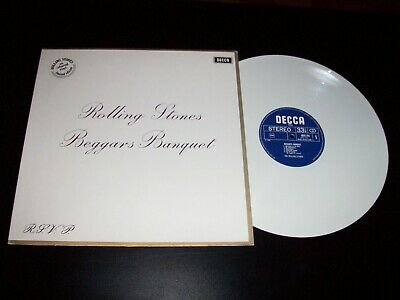 THE ROLLING STONES  -  Beggars Banquet  LP  Holland  White Vinyl