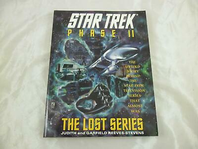 Star Trek Phase II: The Lost Series Reeves-Stevens Pocket Books