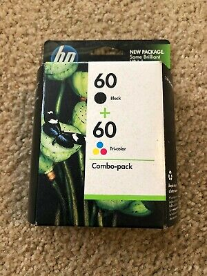 HP Combo-pack #60 Expired Ink Cartridges Never Opened