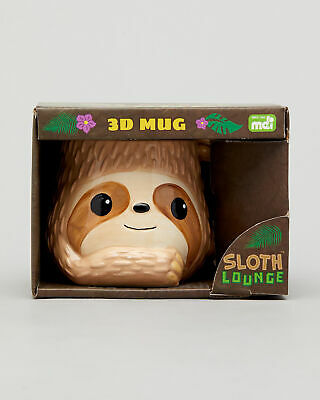 City Beach GET IT NOW Sloth 3d Mug