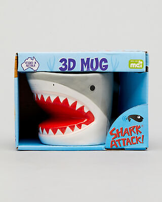 City Beach GET IT NOW Shark Attack 3d Mug