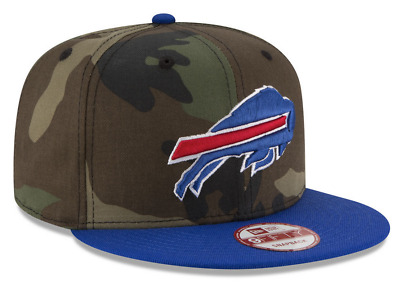 cdecef86d1dc Buffalo Bills~9Fifty~Nfl~Team Headwear~Camo And Blue~Adjustable Snapback