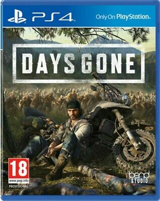 Days Gone PS4 Playstation 4 Brand New Sealed Fast Dispatch