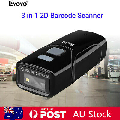 3 in 1 2D Barcode Scanner CCD PDF417 Data Matrix Code for iPad PC iPhone Phones