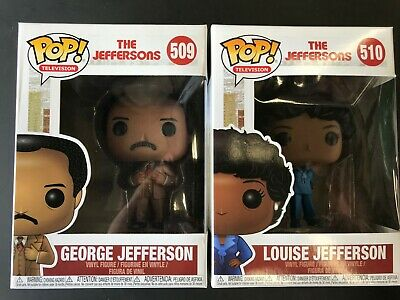 Funko Pop! TV: The Jefferson's George & Louise Jefferson 36797.98 SEt of 2