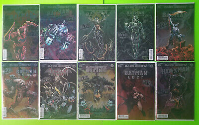 Dark Nights Batman Who Laughs Red Death Dawnbreaker 10 Comic METAL Tie-In Lot