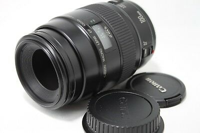 Canon EF Lens 100mm 1:2.8 Macro Non USM **Excellent++** #is003c