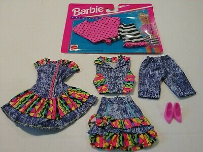 Barbie Doll Clothes Lot Barbie Fashions Summer Fashion Clothing