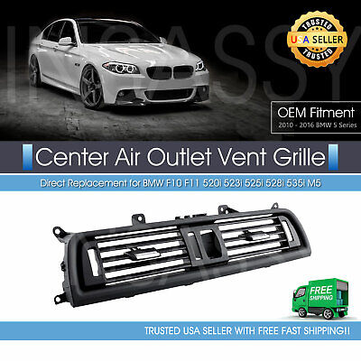 Front AC Air Vent Center Dash Grille for BMW F10 F11 520i 528i 535i 64229166885
