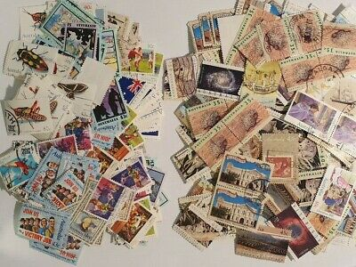AU - 1991 & 1992 - Large selection of USED Stamps - Off Paper