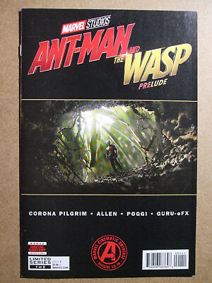 Ant-man and the Wasp  Prelude #1 Marvel comics .. Avengers movie