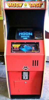 Vtg 1979 Nichibutsu (Space Invaders) Moon Base Video Arcade Game Machine (2-Pl)