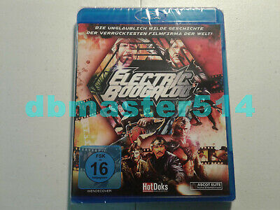 Electric Boogaloo: The Wild, Untold Story of Cannon Films (Blu-ray) REGION B NEW