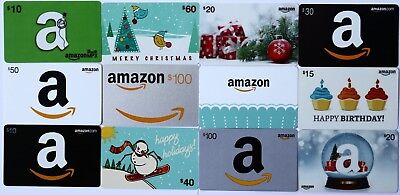 Lot of 12 Different Amazon Gift Cards $0 No Value Collectible