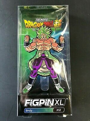 FiGPiN XL The Movie Dragon Ball Fighter Z Super Broly X12 00764 In stock