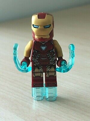 Mint 2019 Super Heroes Marvel Avengers Endgame Ironman MiniFigure 76131 Lot POOO