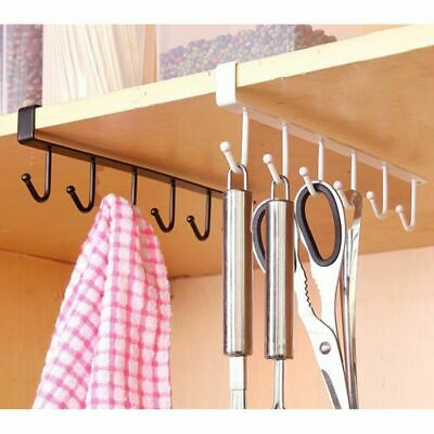 Hanging Utensil Hooks Portable Stainless Steel Flat Hanger Kitchen Accessories