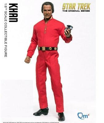 QMx 1/6 Scale Star Trek TOS Khan Collectible Action Figure Toy US IN STOCK