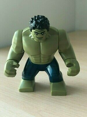 Mint 2019 Super Heroes Marvel Avengers Endgame Hulk MiniFigure 76131 lot IRON CV