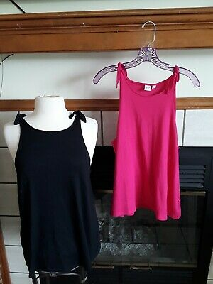 Ladies Gap Summer Tops  Lot Of 2 Size Large