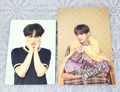 SUGA BTS Official LOVE YOURSELF MAP OF THE SOUL PERSONA Photocard YOONGI