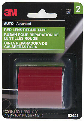 3M #03441NA 1-7//8x60 RED Lens Tape by 3m Company