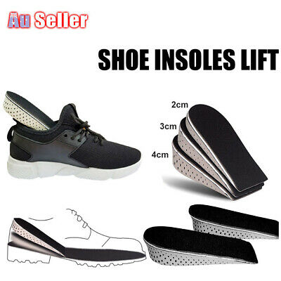 Arch Support Shoe Memory Cotton Half Height Insoles Heel Insert Increase Tall