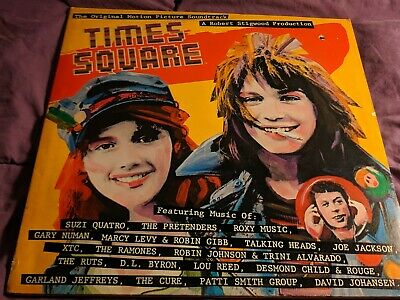 TIMES SQUARE SOUNDTRACK Record, feat  The Ramones, Talking
