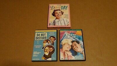 Lot of 7 Doris Day Dvd's :  Doris Day Collection + Do Not Disturb + Pillow Talk