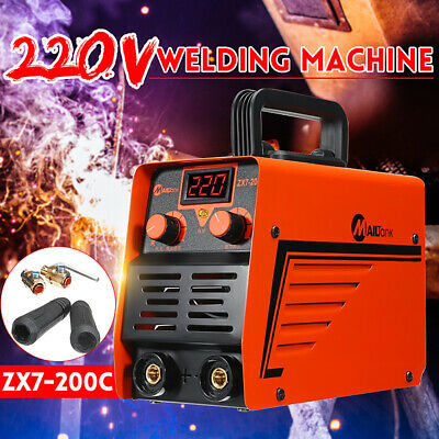 200Amp Mini Welding Machine ARC Electric Inverter Household Welder IGBT