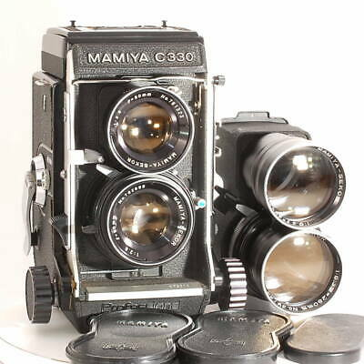 Mamiya C330 Professional TLR w/ 80mm f2.8 250mm f6.3 [Excellent+++] from Japan