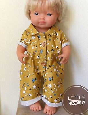 Miniland Doll Clothes 38cm Jumpsuit