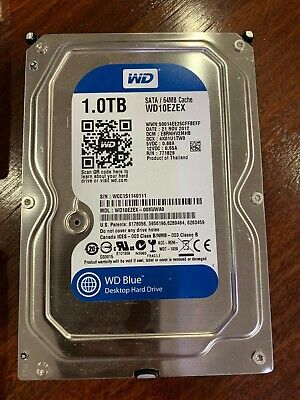 "Western Digital WD Caviar Blue 1 TB, Internal, 3.5""  Hard Drive."
