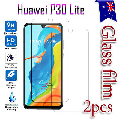 For Hauwei P30 Lite Tempered Glass LCD Screen Protector Film Guard