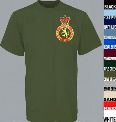 Acf Army Cadet Force Combined Cadets Long Or Short T Shirt Biker Garment Patch
