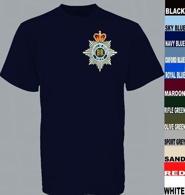 Mod Ministry Of Defence Police Short Long T Shirt Biker Garment Patch Xs To 5Xl