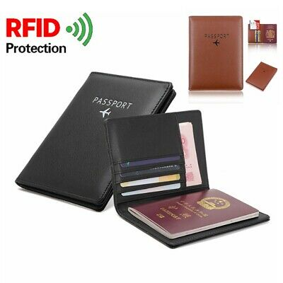 Travel Bag Passport Tickets ID Holder Wallet Purse Document Organizer Bifold