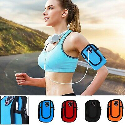 Sports Arm Band, Gym Waist Pouch Runners Bum Bag & Jogging Phone Holder Running
