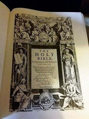 1611 King James Holy Bible Quartercentenary Oxford Press Edition 2011