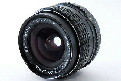【AS IS】Asahi Opt. SMC Pentax 24mm f2.8 Wide Angle Lens K mount From Japan 190321