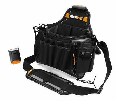ToughBuilt Clip-Tech Electrician's Pouch with Shoulder Strap