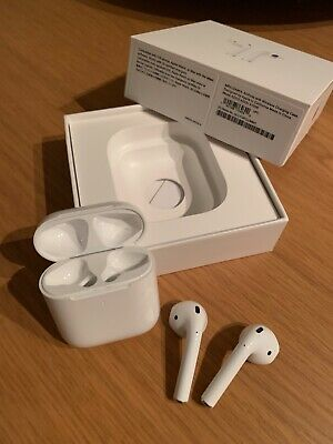 AirPods 2nd Generation with Wireless Charging Case - White - H1 Chip