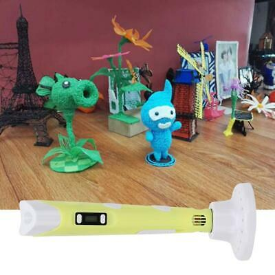 3D Stereoscopic Doodler Printing Pen with LED Display Version 2 PLA Filaments AU