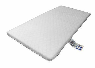 LAURA® Deluxe Eco Airflow Quilted Travel Cot Mattress 119x59cm - 5cm Thick
